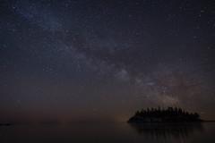 milkywaychasing (shouavang) Tags: stars nightsky milkyway minnesota island splitrockstatepark longexposure