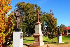 Forbes War Memorial (Ggreybeard) Tags: warmemorial victoriapark forbes nsw lantern