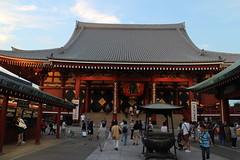 main temple (Senso-ji Temple) (Yukie Usami) Tags: pagoda temple sightseeing famous culture shrine japan