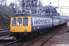 DMU Coventry station 1988 (cvtperson) Tags: class 116 dmu coventry
