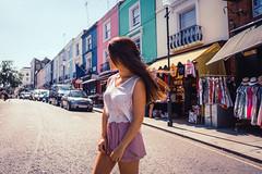 Girls Just Wanna Travel (bearepresa) Tags: london portobello road photography girl traveller notting hill sony a6500