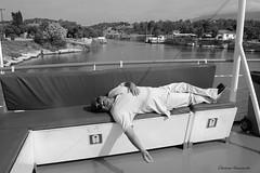 The Corinth Canal in Greece (Eleanna Kounoupa) Tags: ελλάδα πελοπόννησοσ ισθμόστησκορίνθου διώρυγατησκορίνθου θάλασσα νερό greece peloponnese corinthcanal isthmusofcorinth sea water boat πλοίο άνθρωποι people bw blackwhitephotos blackandwhite μαυρόασπρεσ ίσθμια isthmia ύπνοσ sleep