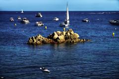 Cada uno navega... (candi...) Tags: barcas playa mar vela agua airelibre personas paisaje sonya77