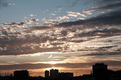 Ciel de juillet (MaO de Paris) Tags: sky skyporn paris france clouds morning fuji xt1