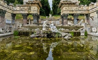 Schönbrunn Palace. Rome in Vienna