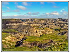 Nature - Canada - Alberta - The Beautiful Horseshoe Canyon. (Bill E2011) Tags: canada alberta history geology beauty formation hills valleys canon prairie drumheller