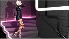 Ylla (Moni Carissa) Tags: imageessentials allure poses junia 7deadlyskins the fitmesh plaza 50 discount event dress heels maitreya slink belleza ebody hud backdrop city prtty gemyles couture twe12veevilbunnyevent