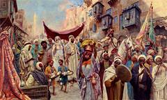 The Procession by Fabio Fabbi (skaradogan) Tags: orientalism orientalisme painting algeria algerie north africa maghreb peinture