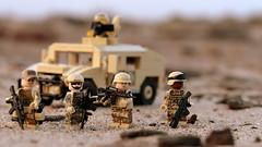 US Combat Operations - Sandahar Province (Brick Police) Tags: legomilitary legoairborne army legos minifigures minifigs