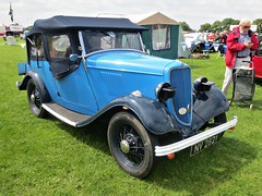 266 Ford Model Y 8 hp Tourer (1st Series)  (1933) (robertknight16) Tags: ford british 1930s modely morris8 enfield nv2821