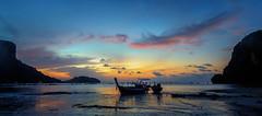 Morning blues (Stan Smucker) Tags: sunrise sunset eastrailay krabi boat bluehour
