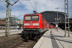 DB 112 154 Hamburg Hbf (daveymills37886) Tags: db 112 154 hamburg hbf baureihe hauptbahnhof regio