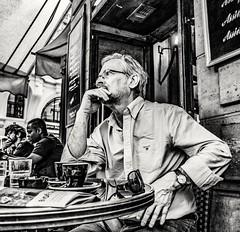 Deep in thought...👀 (mikeback-streetphotography) Tags: streetstyle streetphotographer streetarteverywhere streetportrait streetphotographystreet streetlife streetphoto streetartistry streetphotographers streetart urban bnw blackwhite black blackandwhite blackandwhitephotography monochromatic monochrome mono
