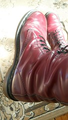 20180305_150352 (rugby#9) Tags: drmartens boots icon size 7 eyelets doc docs doctormarten martens air wair airwair bouncing soles original 14hole lace docmartens dms cushion sole yellowstitching yellow stitching dr comfort cushioned wear feet dm 14 hole cherry indoor 1914 boot footwear shoe macro