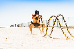 (AdrienneCredoPhotography) Tags: fitness beach workout gym world huntingtonbeach california marine unitedstates kettlebell tire sled row summer body summerbody nikond3200 nikon d3200 marines battleropes ropes rope kettlebells kettle bell rows tires tireflip tireflips muslces motivation dedication superman supermanpushup pushup tan