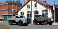 Classic Trucks (Schwanzus_Longus) Tags: eystrup german germany old classic vintage vehicle truck lorry flatbed mercedes benz l312 hanomag st100