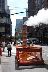 Steam funnel (kevin Akerman) Tags: steam funnel street new york