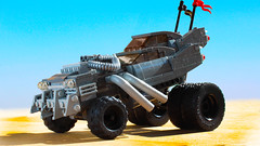 Lego Mad Max Fury Road Gigahorse (hachiroku24) Tags: lego mad max fury road apocalypse wasteland car moc gigahorse instructions