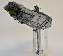 MC-75 Profundity, vue arrière (Pierre MiniBricks) Tags: lego star wars mini moc mc75 profundity pierre minibricks