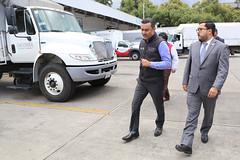 EL DIRECTOR GENERAL DE DICONSA, ORLANDO OLGUÍN MIRANDA, JUNTO CON EL MINISTRO DE DESARROLLO SOCIAL DE GUATEMALA, CARLOS VELÁSQUEZ MONGE, VISITARON EL ALMACÉN DE LERMA. (diconsa_mx) Tags: diconsa metropolitana desarrollo social sedesol director ministro guatemala