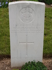 CWGC Company Serjeant Major William Henry Maddocks (greentool2002) Tags: company serjeant major cwgc william henry maddocks royal welsh fusiliers st marys ads cemetery haisnes advance dressing station commonwealth war graves commission