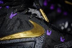 """Purple kings"" (mmollame18) Tags: nike king blackhistorymonth lebron11s art design black purple gold lion closeup lebron lebronjames lbj lebron11 lebronxi lebroneleven kicks shoes igsneakercommunity soleonfire solecollector nicekicks sneakers sneakerhead sneakerholics lebro land swoosh"