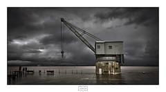 La vieja grúa/ The old crane (Jose Antonio. 62) Tags: spain españa cantabria santander industrialarcheology industrial grúas cranes