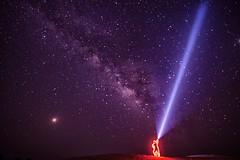 The Beam (Sanjiban2011) Tags: astrophotography stars nightphotography longexposure nature outdoor lightpaint lightpainting milkyway lightrays nikon d750 tamron tamron1530