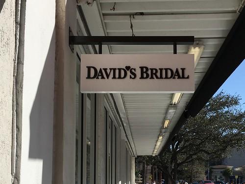 David's Bridals Sign Coral Gables