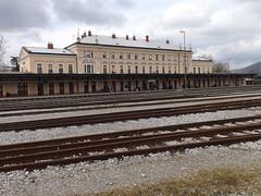 2013-04_Nova Gorica (Slovenia) (rastgt1962) Tags: воксал slovenie slowenien slovenija slovenia novagorica railwaystation trainstation bahnhof gare