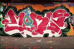 (Alex Ellison) Tags: leakestreet southlondon waterloo tunnel halloffame urban graffiti graff boobs