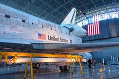 DSCF0331_2_3_HDR (thedoc31) Tags: udvarhazy washingtondc dc udvar spaceshuttle space shuttle discovery sr71blackbird sr71 blackbird aircraft airplane