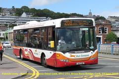 Bus Eireann, SL Class, (25), Scania Omni Link, SL21, 09-C-251, Brian Boru Bridge, Cork, 19 June 2018 (Shamrock 105) Tags: cork scania buseireann scaniaomnilink brianboru lotabeg curaheen capwell capwellgarage