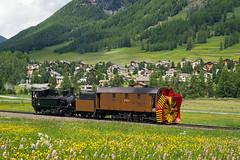 9213 (Bantam61668) Tags: switzerland rhb steam dampf