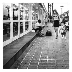 Street Vendor (Gingydadtog) Tags: blackandwhite majorca mono sacoma spain street