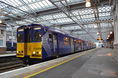 Scotrail 314209 (Will Swain) Tags: station 10th march 2018 glasgow central train trains rail railway railways transport travel uk britain vehicle vehicles country england class 314 north scotland scottish town scotrail 314209 209