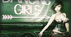 Dancing girls (|I{•------» 丂υş «------•}I|) Tags: bento bentoavatar avi avatar secondlife sl vr catwa maitreya art avatars backgrounds color creative colors digital elegant firestorm female hair image life linden love ll lindenlab model mesh photoshop photography poses second pose bentoavi virtualreality virtual game rp roleplay screensaver skin sexy women woman