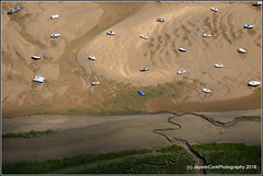 Brancaster (JaysonCork) Tags: branbaster staithe north norfolk coast aerial photography jayson cork boats