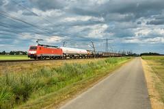 DB Cargo 189 025, Angeren (Sander Brands) Tags: trein treni train treno nikon d7000 db dbc cargo rail strecke siemens spotten betuweroute