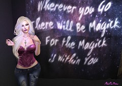 There will be magick. (PinkangelIndigo) Tags: besom bootysbeauty candleandcauldron candycrunchers catwa dahlia edenrandom elise entice hg maitreya ncore supernatural veechi