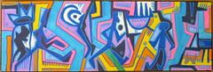 Artwork by Tarek (Pegasus & Co) Tags: tarek tarekbenyakhlef art artistes arts arturbain artwork artiste artcontemporain artist paristonkarmagazine painting peinture france graff galerie graffiti streetart spraycan acrylique popculture pop posca colors couleur