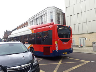 Stagecoach sunderland repainted gass bus