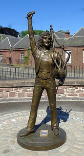 Bon Scott statue Kirriemuir