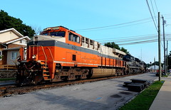 Interstate and NYC heritage units at Warsaw Indiana (Matt Ditton) Tags: interstate nyc heritage unit warsaw railroad
