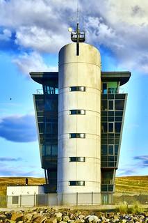 Rocket Launch - Aberdeen Harbour Scotland - 8/8/2018