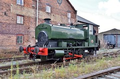 AB 2261/1949 (Down to nowhere) Tags: andrewbarclay andrewbarclaysonsandcoltd andrewbarclaylocomotives 040st industriallocomotive steamlocomotive ncb nationalcoalboard ab22611949 oswestry cambrianheritagerailways cambrianrailwayssociety shunter