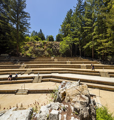 UCSC Upper Quarry Amphitheater Renovation (Dreyfuss + Blackford Architecture) Tags: robertroyston b6029 university upper quarry renovation historic restoration 2016 2017 ucsc santa cruz outdoor public spaces 2018 construction dreyfuss blackford architecture san francisco sacramento flint builders royal electric seigfried engineering people educational exterior tree sky wall