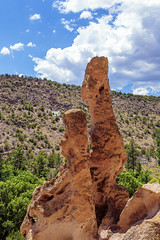 Ancient Observers (G.E.Condit) Tags: gecondit grantcondit 6d landscape valley bandelier bandeliernationalmonument stone observer watcher overwatch summer nm nmtrue newmexico southwest ancient