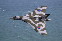 G-VLCN / XH558 (Ian.Older) Tags: avro vulcan xh558 gvlcn classic military bomber aircraft eastbourne airshow spirit great britain vtts low level topside delta wing warbird beachy head