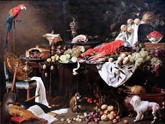 IMG_0099F Adriaen Van Utrecht. 1599-1652. Utrecht. Le Banquet. The Banquet  1644.  Rijksmuseum Amsterdam. (jean louis mazieres) Tags: peintres peintures painting musée museum museo artsacré artancien artcontemporain sacredart ancientart contemporaryart